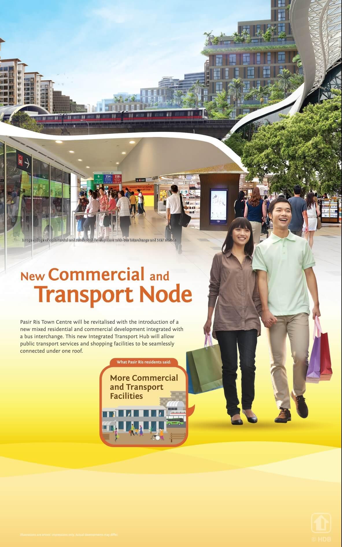 Pasir Ris 8 Commercial Transport Node 1