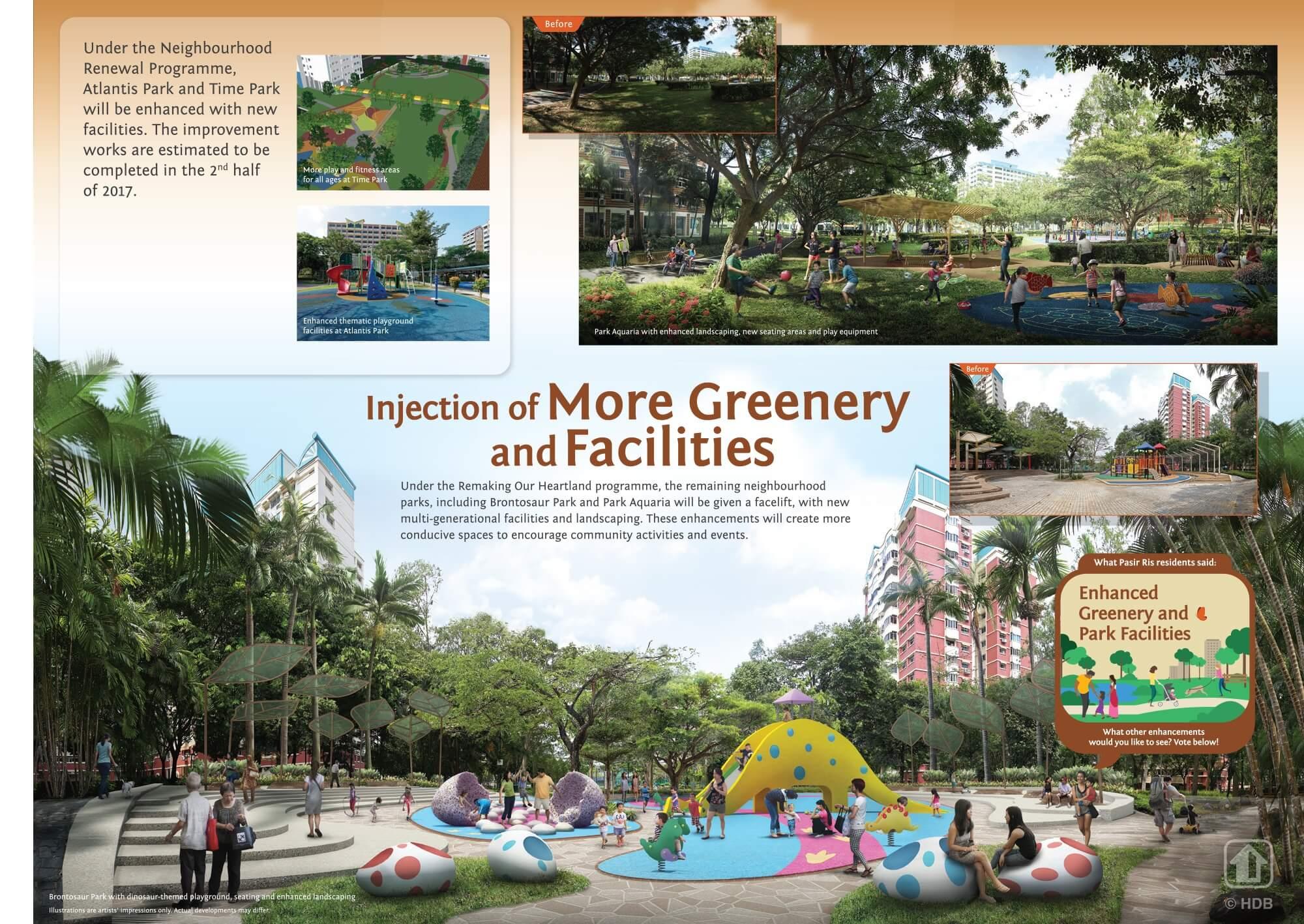 Pasir Ris 8 Greeneries Facilities 1