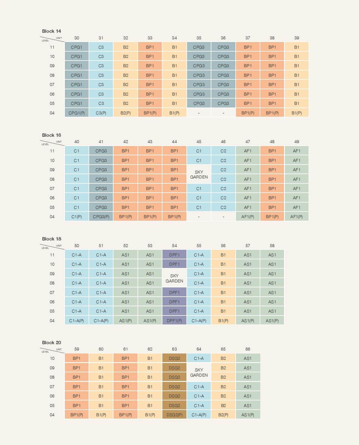 Pasir Ris 8 Elevation Chart 2