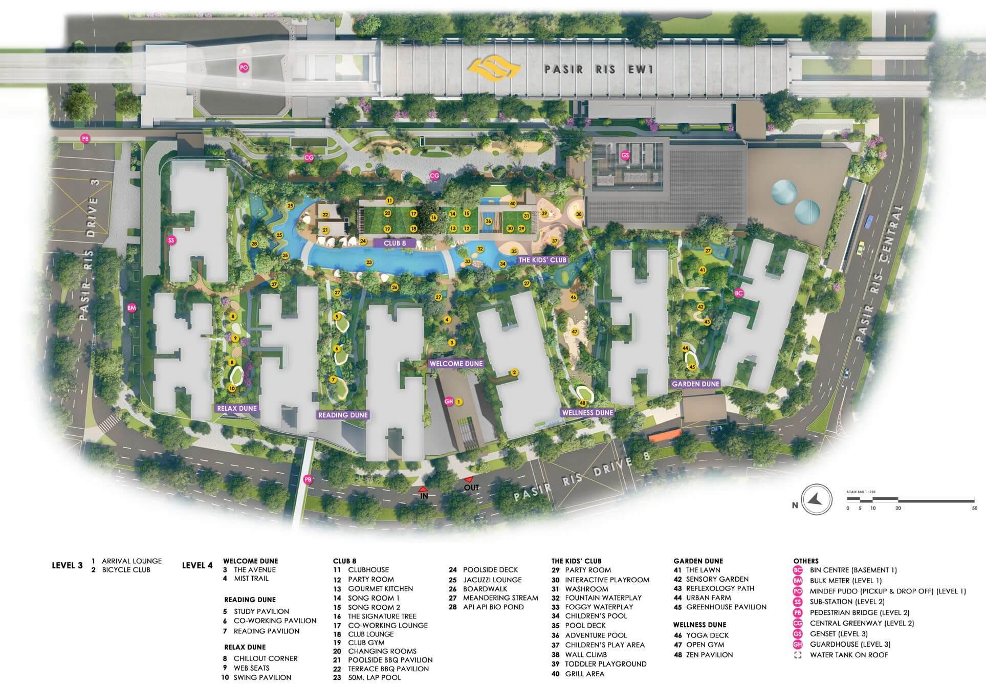 Pasir Ris 8 Site Plan 1