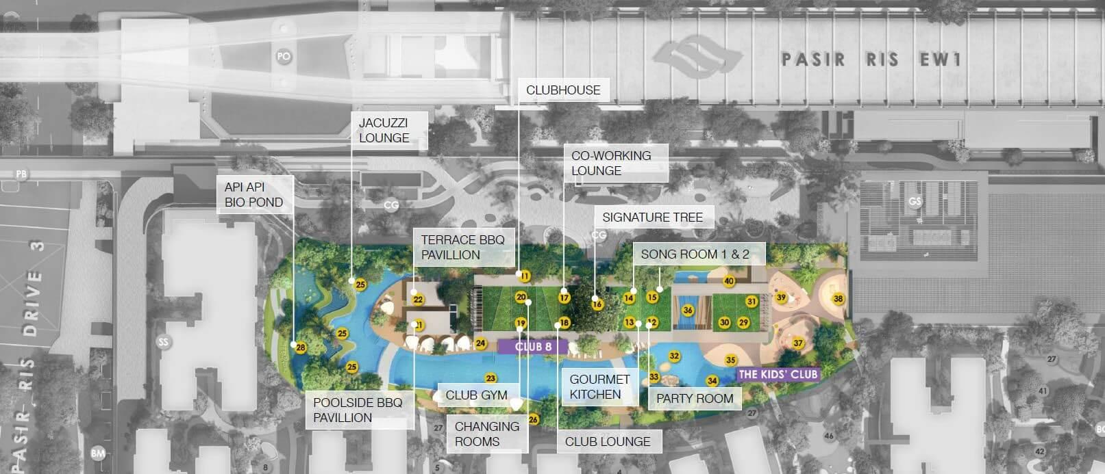 Pasir Ris 8 Site Plan 2