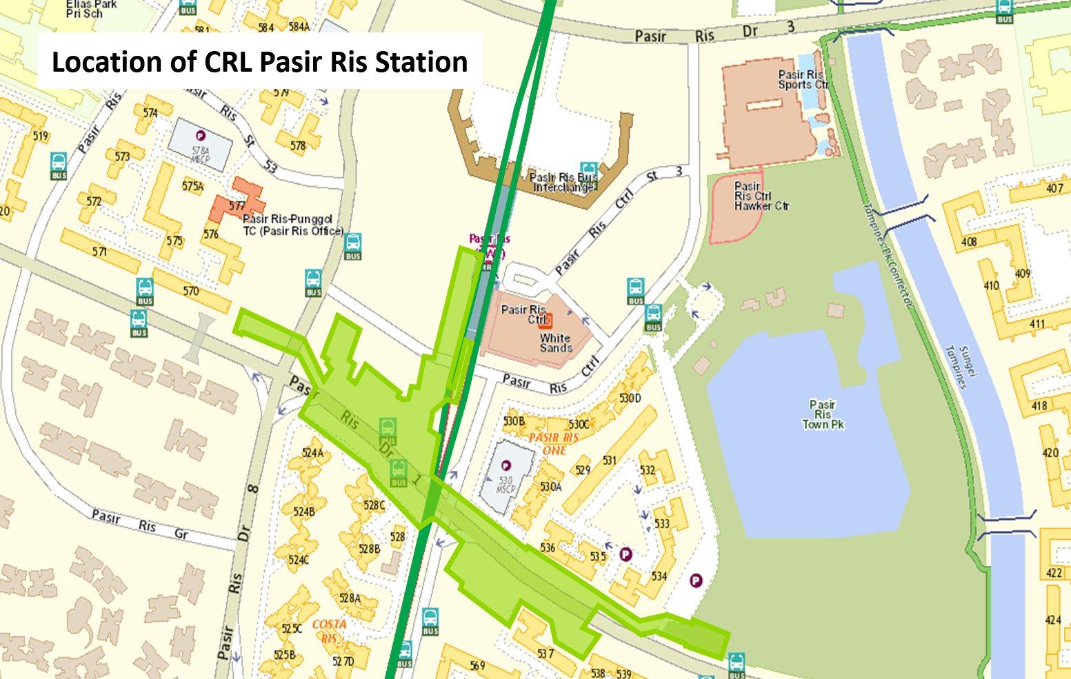 Pasir Ris CRL MRT Station 2