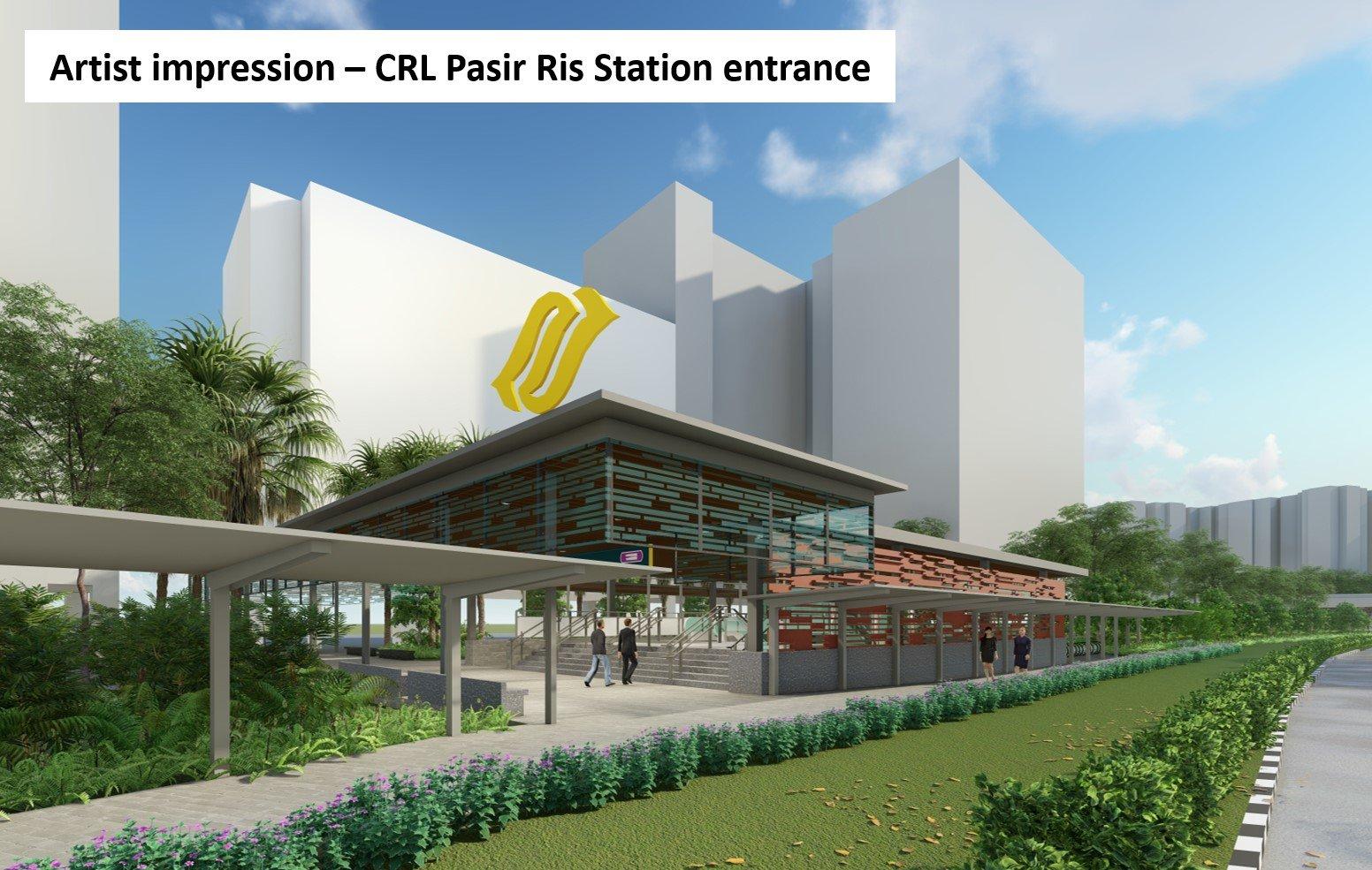 Pasir Ris CRL MRT Station 3