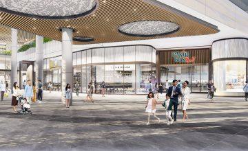 Town Plaza connecting Pasir Ris Mall main entrance