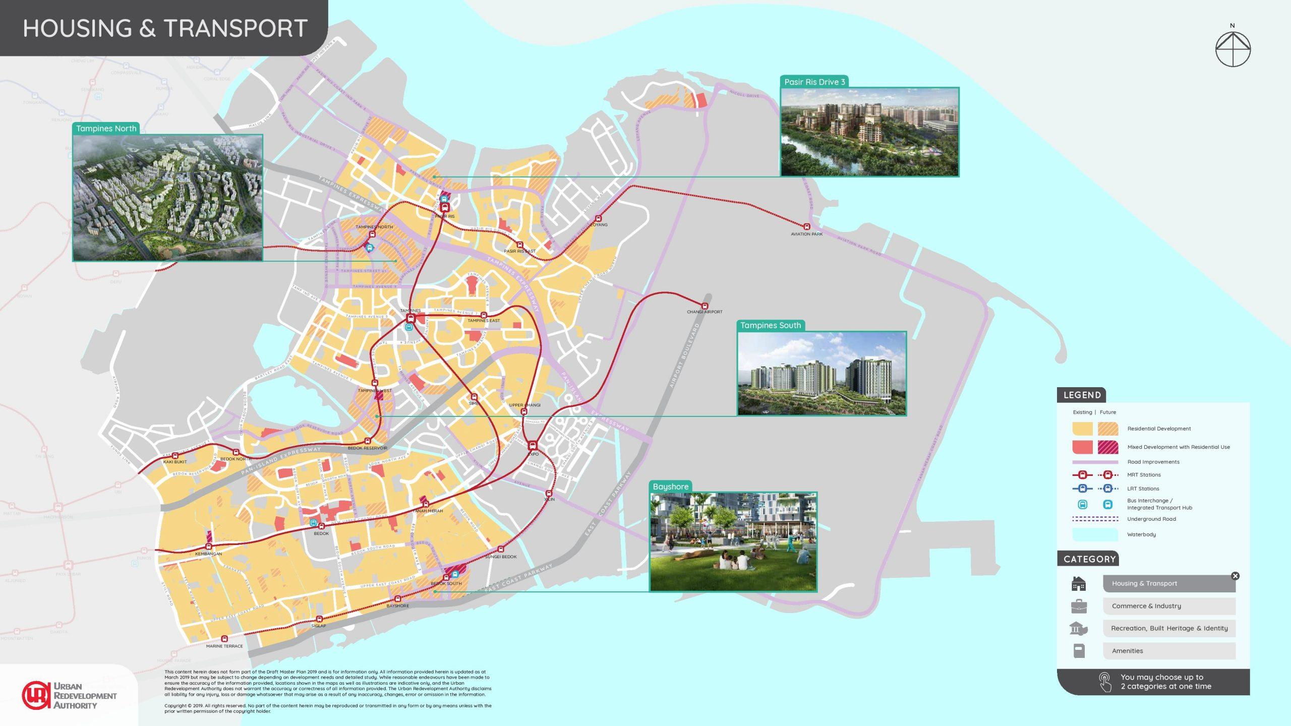 URA east region illustrated plans 1 scaled
