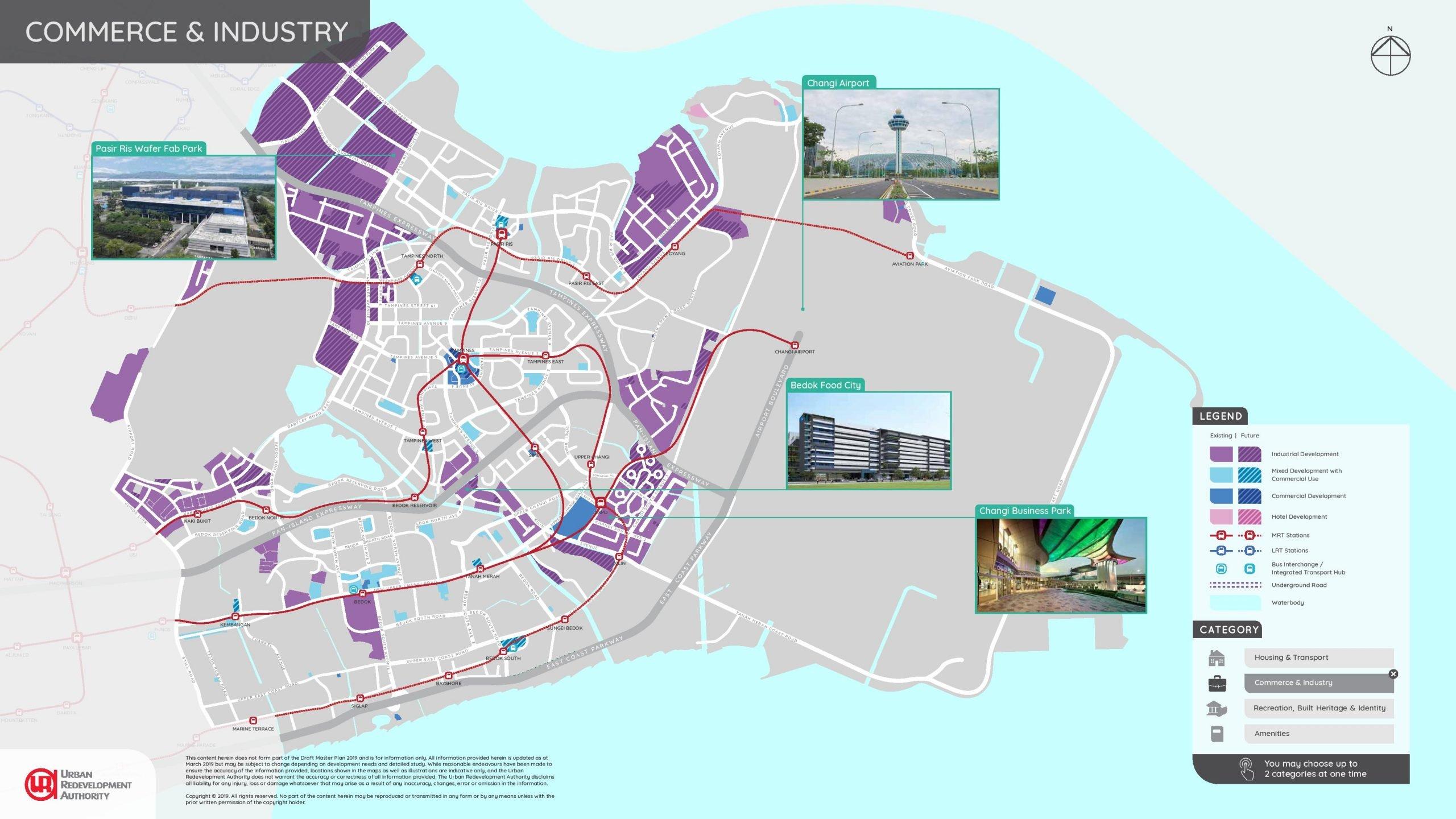 URA east region illustrated plans 2 scaled