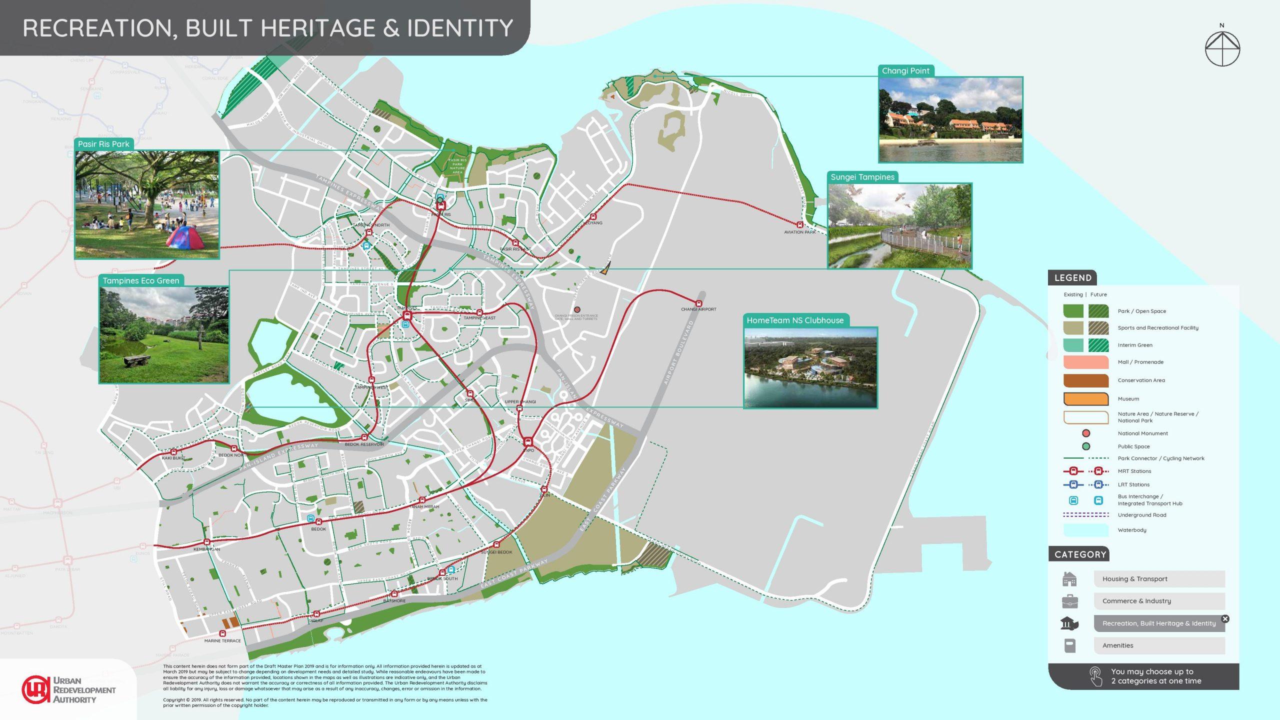 URA east region illustrated plans 3 scaled