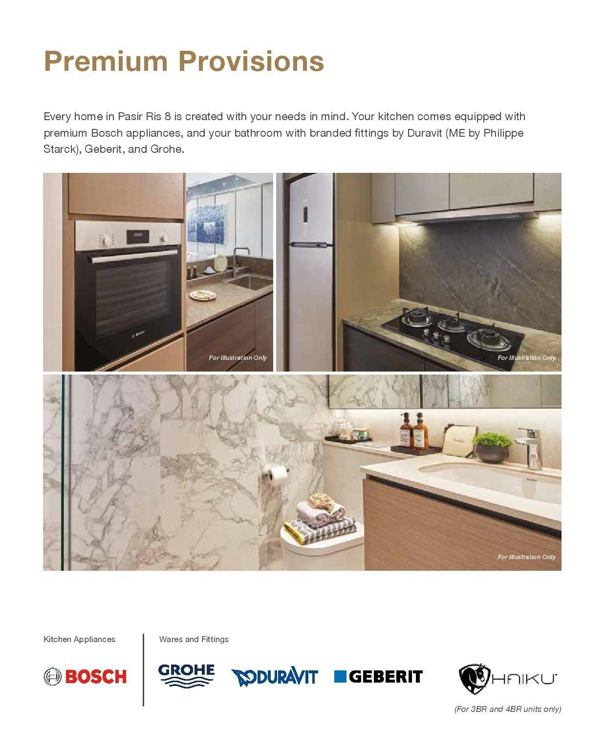 Pasir Ris 8 Floor plans Premium Provisions