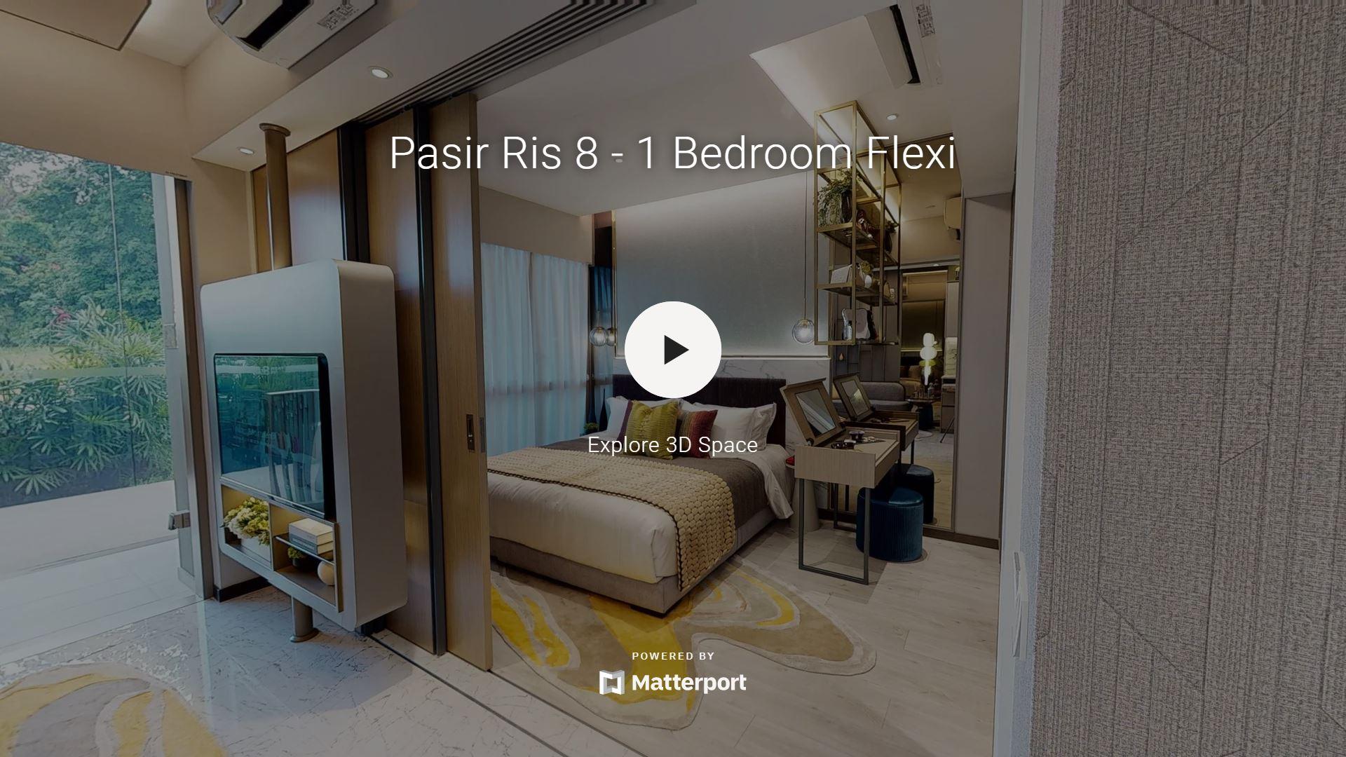 Pasir Ris 8 Showflat Virtual Link for 1 Bedroom Flexi Type AF1